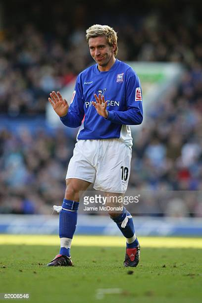 Darren Currie of Ipswich Town in action during the Coca Cola Championship match between Ipswich Town and Stoke City at Portman Road on December 28...