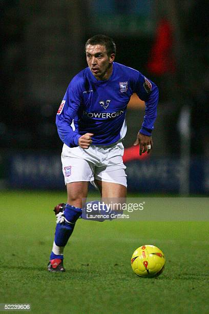 Darren Currie of Ipswich Town in action during the CocaCola Championship match between Preston North End and Ipswich Town at Deepdale on February 18...