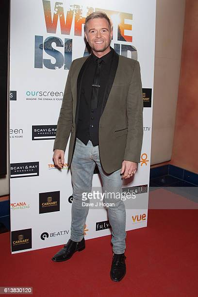 Darren Day attends the film premiere of 'White Island' at Vue Piccadilly on October 10 2016 in London England