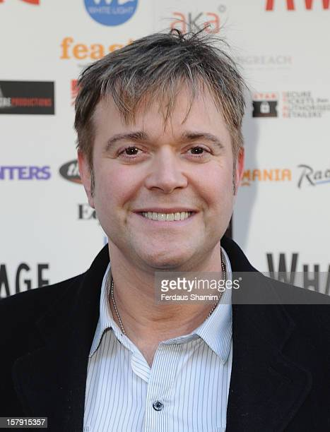 Darren Day attends the Whatsonstagecom Theatre Awards nominations launch at Cafe de Paris on December 7 2012 in London England