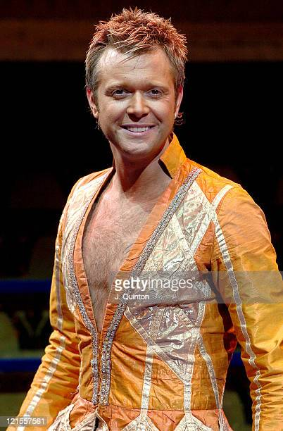 Darren Day during Suzanne Shaw and Darren Day Star in 'Joseph and the Amazing Technicolor Dreamcoat' Photocall at New London Theatre in London Great...