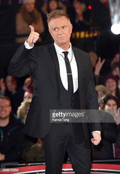 Darren Day is evicted from the Big Brother house at Elstree Studios on February 5 2016 in Borehamwood England