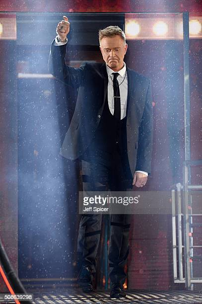 Darren Day is evicted from the Celebrity Big Brother House at Elstree Studios on February 5 2016 in Borehamwood England
