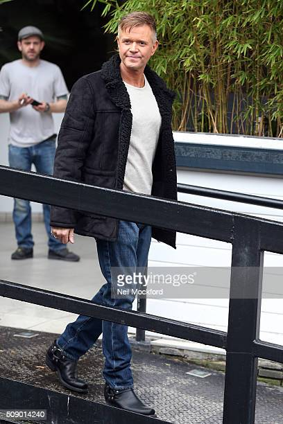 Darren Day seen at the ITV Studios on February 8 2016 in London England