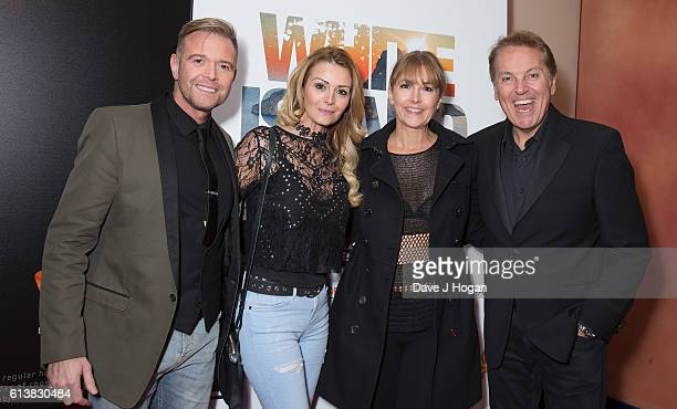 Darren Day Stephanie Dooley AnneMarie Connolly and Brian Connolly attend the film premiere of 'White Island' at Vue Piccadilly on October 10 2016 in...