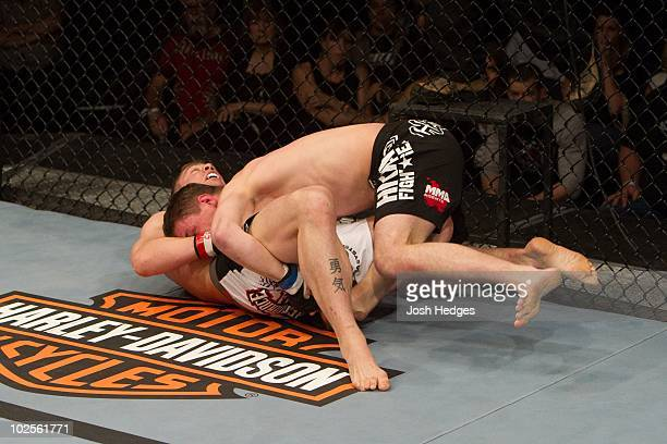 Darren Elkins def Duane Ludwig TKO 44 round 1 during UFC on Versus 1 at 1stBank Center on March 21 2010 in Broomfield Colorado