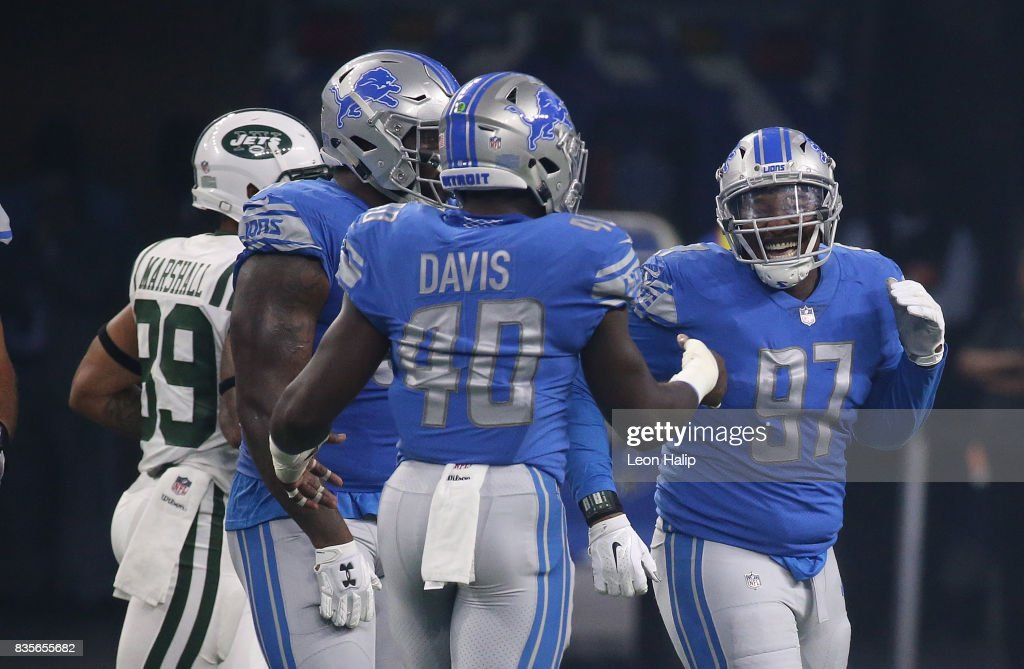 New York Jets v Detroit Lions : News Photo