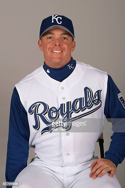 Darren Fenster of the Kansas City Royals poses for a portrait during photo day at Surprise Stadium on February 26 2005 in Surprise Arizona