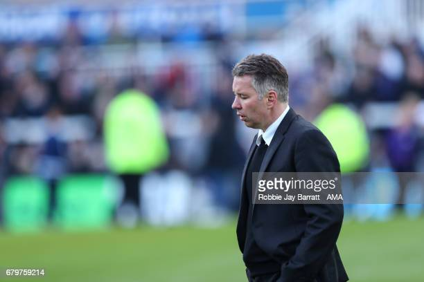 Darren Ferguson head coach / manager of Doncaster Rovers during the Sky Bet League Two match between Hartlepool United and Doncaster Rovers at...