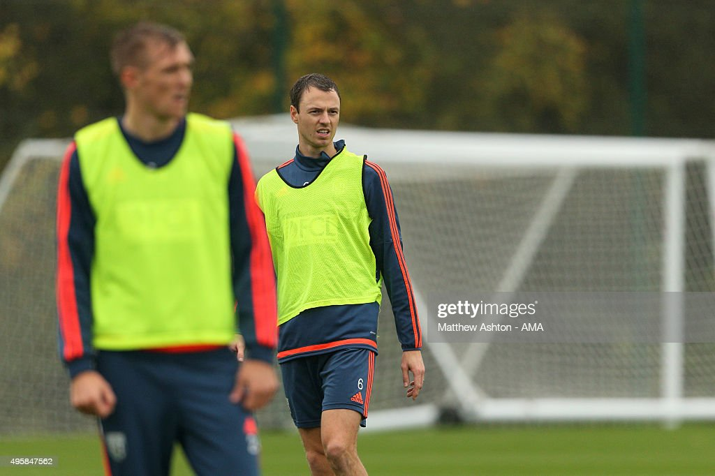 West Bromwich Albion Training Session : News Photo