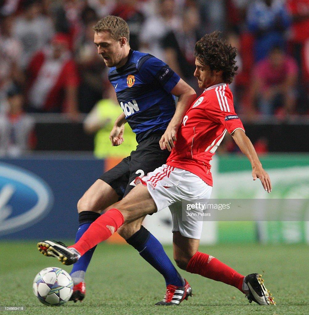 SL Benfica v Manchester United FC - UEFA Champions League