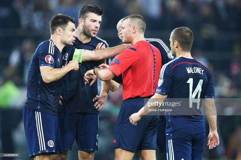 Germany v Scotland - EURO 2016 Qualifier