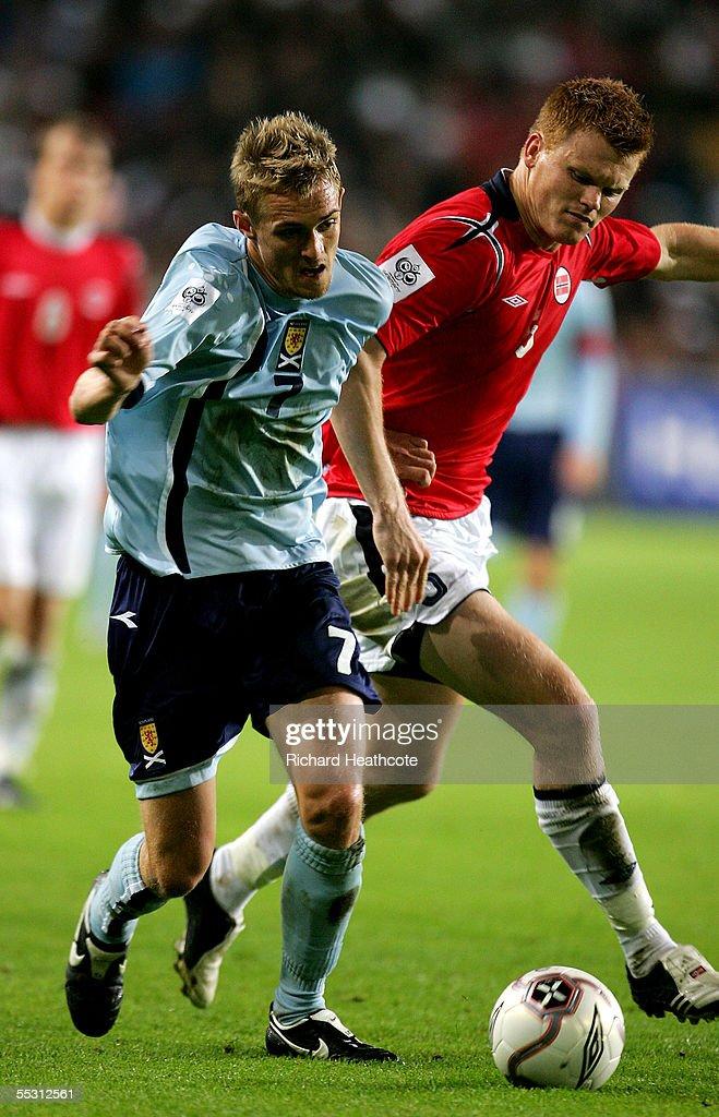 World Cup Qualifier: Norway v Scotland : Fotografía de noticias