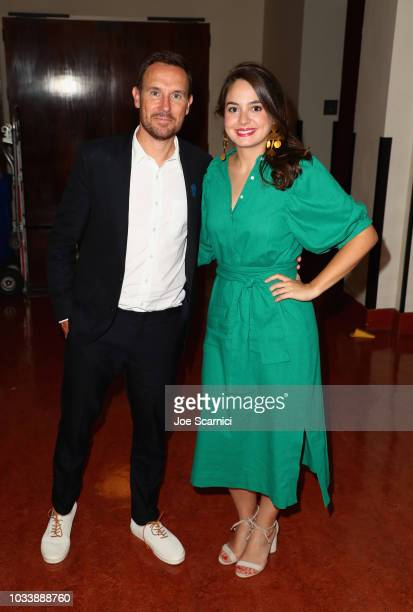 Darren Foster and Cristina Costantini attend the premiere of National Geographic Documentary Films' SCIENCE FAIR at Royce Hall in Los Angeles CA on...
