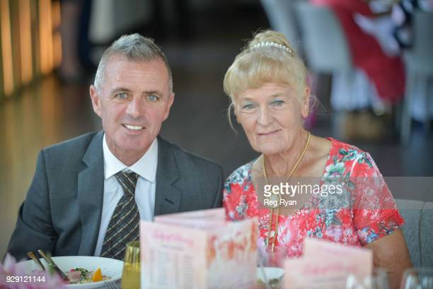 Darren Gauci and Udyta Clarke Lady of Racing Award Lunch at Metropolis Events on March 08 2018 in Southbank Australia