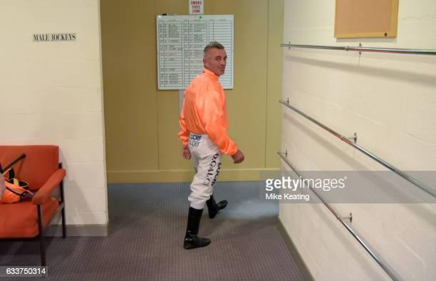 Darren Gauci's farewell race at Caulfield Racecourse on February 04 2017 in Caulfield Australia