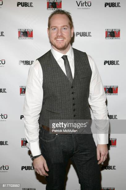 Darren Goldstein attends OPENING NIGHT of BLOODY BLOODY ANDREW JACKSON at The Bernard B Jacobs Theatre on October 13 2010 in New York City