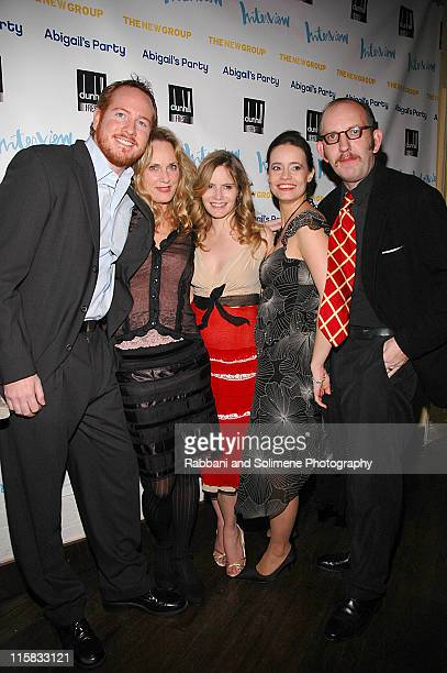 Darren Goldstein, Lisa Emery, Jennifer Jason Leigh, Elizabeth Jasicki and Max Baker