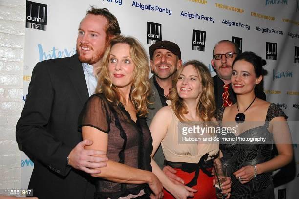 Darren Goldstein, Lisa Emery,Scott Elliott,Jennifer Jason Leigh, Max Baker and Elizabeth Jasicki