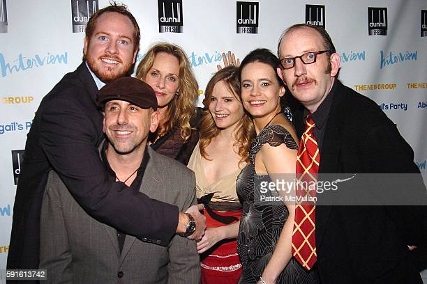 Darren Goldstein, Scott Elliott , Lisa Emery, Jennifer Jason Leigh, Elizabeth Jasicki, Max Baker and attend INTERVIEW MAGAZINE Afterparty for the...
