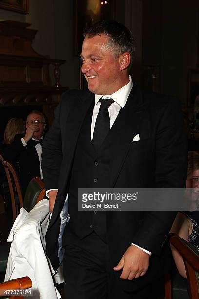 Darren Gough attends the I CAN Gala Dinner in aid of The Million Lost Voices appeal at Lord's Cricket Ground on June 16 2015 in London England