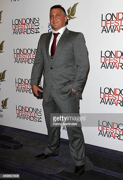 Darren Gough attends The London Lifestyle Awards at the Troxy on October 8 2014 in London England