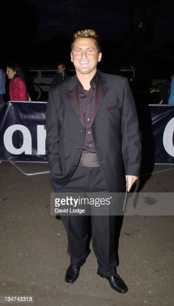 Darren Gough during 2005 Professional Cricketers' Association Awards Dinner Arrivals at Royal Albert Hall London SW7 in London Great Britain