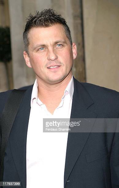 Darren Gough during Sporting Champions Christmas Lunch December 21 2005 at The Dorchester in London Great Britain