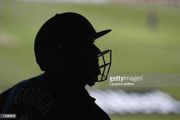 Darren Gough of England waits to bat during the NatWest One Day Series match between England and Sri Lanka played at Headingley in Leeds England on...