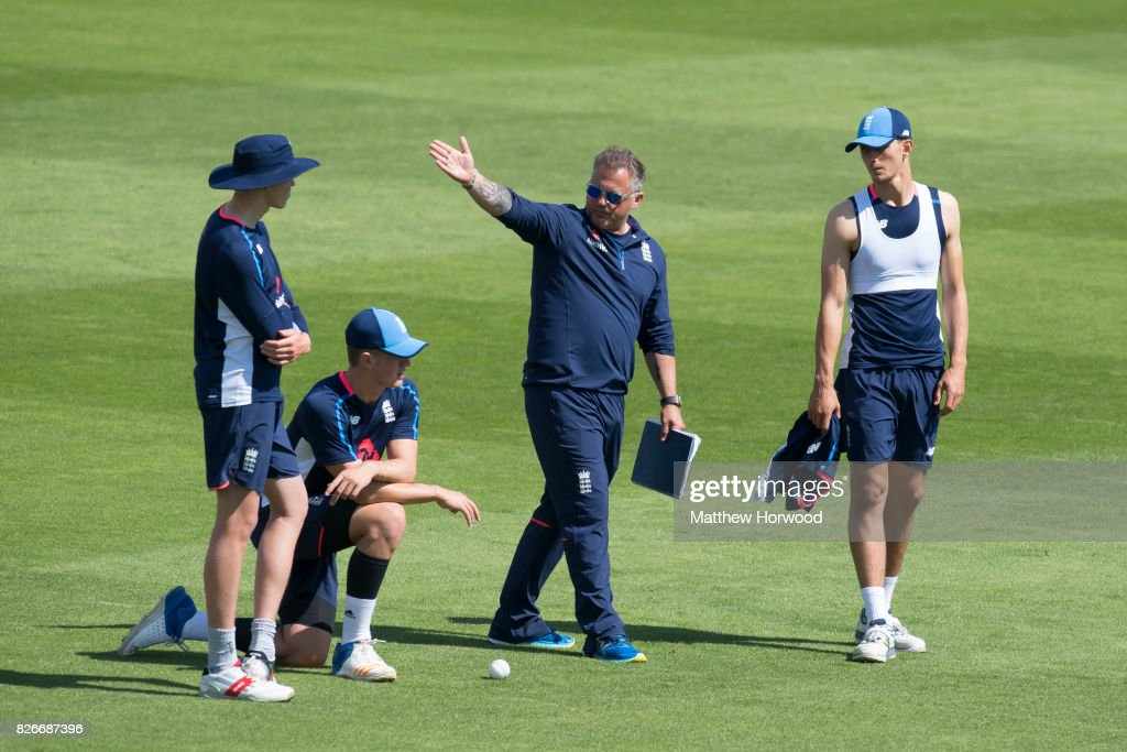 England U19 Media Access : News Photo
