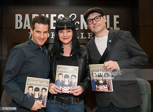 Darren Greenblatt Pauley Perrette and Matthew Sandusky sign and discuss their new book 'Donna Bell's Bake Shop Recipes and Stories of Family Friends...