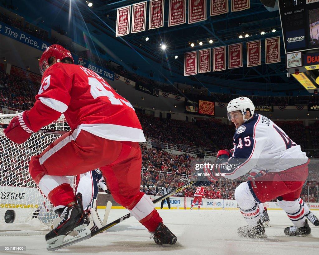 Columbus Blue Jackets v Detroit Red Wings : News Photo