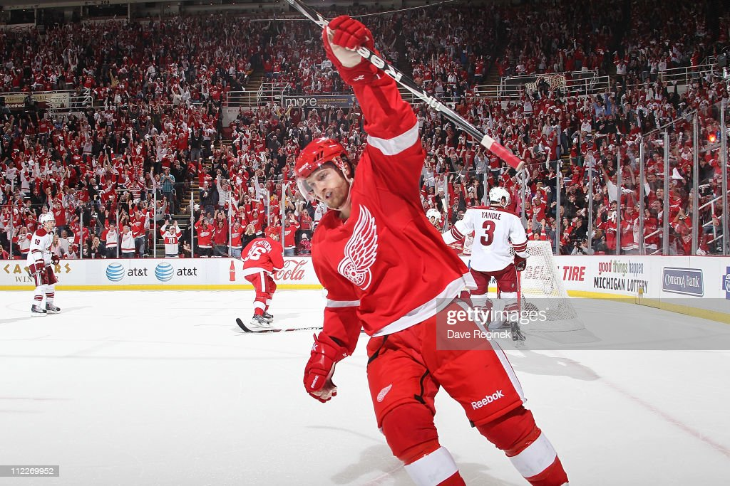 Phoenix Coyotes v Detroit Red Wings - Game Two
