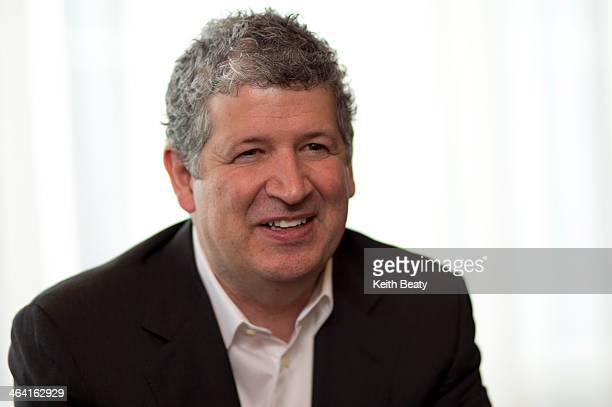 Darren Huston president and CEO of Pricelinecom and Bookingcom in his office January 20 2014