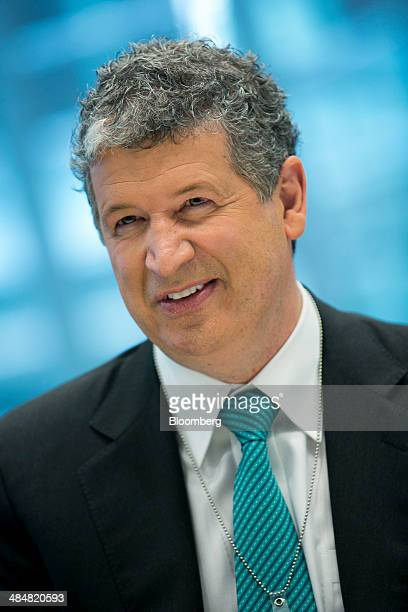 Darren Huston president and chief executive officer of Pricelinecom Inc speaks during an interview in New York US on Monday April 14 2014 Huston a...