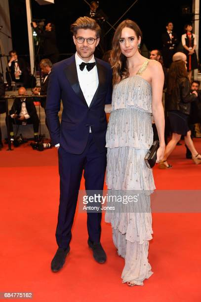 Darren Kennedy and Louise Roe attend the 'Blade Of The Immortal ' screening during the 70th annual Cannes Film Festival at Palais des Festivals on...