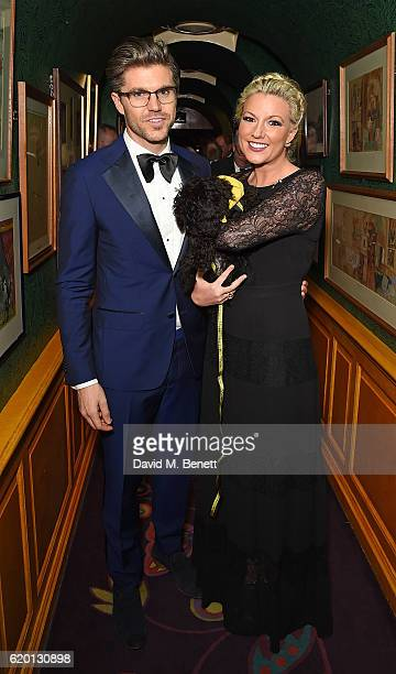 Darren Kennedy and Natalie Rushdie attend a private dinner hosted by Annabel's celebrating the 125th anniversary of The Dog's Trust on November 1...