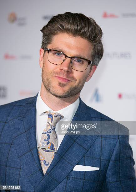 Darren Kennedy arrives for the WGSN Futures Awards 2016 on May 26 2016 in London England