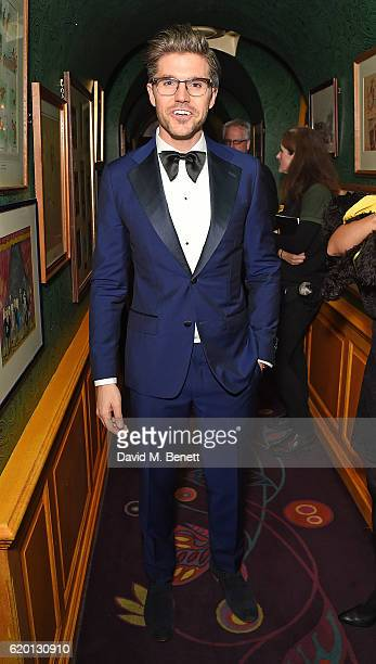 Darren Kennedy attends a private dinner hosted by Annabel's celebrating the 125th anniversary of The Dog's Trust on November 1 2016 in London England
