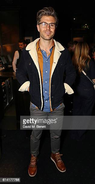 Darren Kennedy attends a private dinner in celebration of the Vestiaire Collective Men at Tramp on October 12 2016 in London England