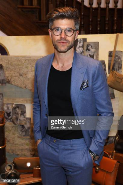 Darren Kennedy attends 'The Aerodrome Collection By David Gandy' launch party at Aspinal Of London on April 24 2018 in London England