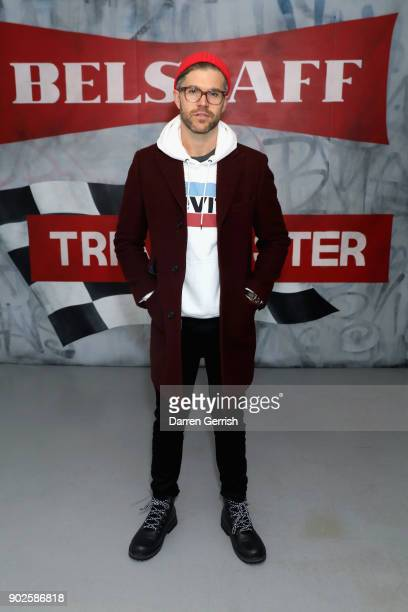 Darren Kennedy attends the Belstaff AW18 Mens Womens Presentation during London Fashion Week Men's January 2018 on January 8 2018 in London England
