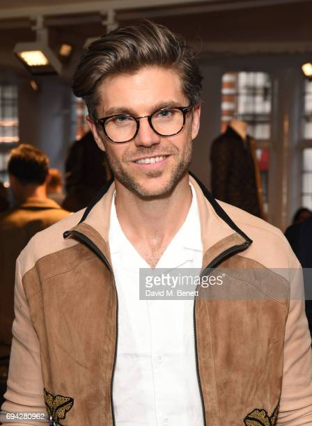 Darren Kennedy attends the dunhill London presentation during the London Fashion Week Men's June 2017 collections on June 9 2017 in London England