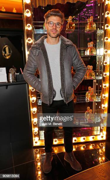 Darren Kennedy attends The Flexible Body book launch hosted by Roger Frampton at the Perception at The W London Hotel with Patron Tequila on January...