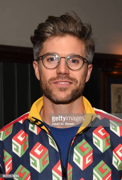 Darren Kennedy attends the LFWM Official Party Pub LockIn during London Fashion Week Men's January 2018 at The George on January 7 2018 in London...