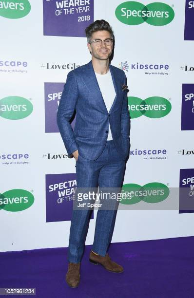 Darren Kennedy attends the Specsavers 'Spectacle Wearer Of The Year' at 8 Northumberland Avenue on October 24 2018 in London United Kingdom