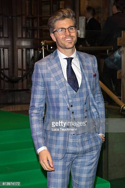 Darren Kennedy attends the Spectacle Wearer of the Year awards on October 11 2016 in London England