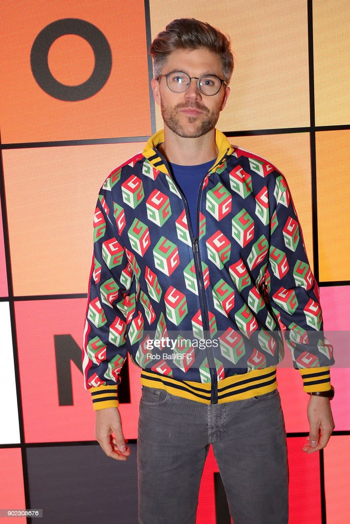 Darren Kennedy attends the TOPMAN LFWM Party during London Fashion Week Men's January 2018 at Mortimer House on January 7, 2018 in London, England.