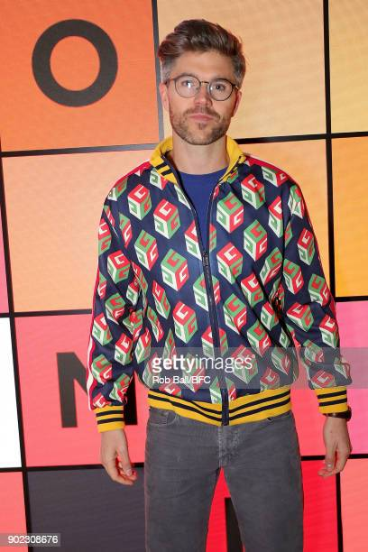 Darren Kennedy attends the TOPMAN LFWM Party during London Fashion Week Men's January 2018 at Mortimer House on January 7 2018 in London England