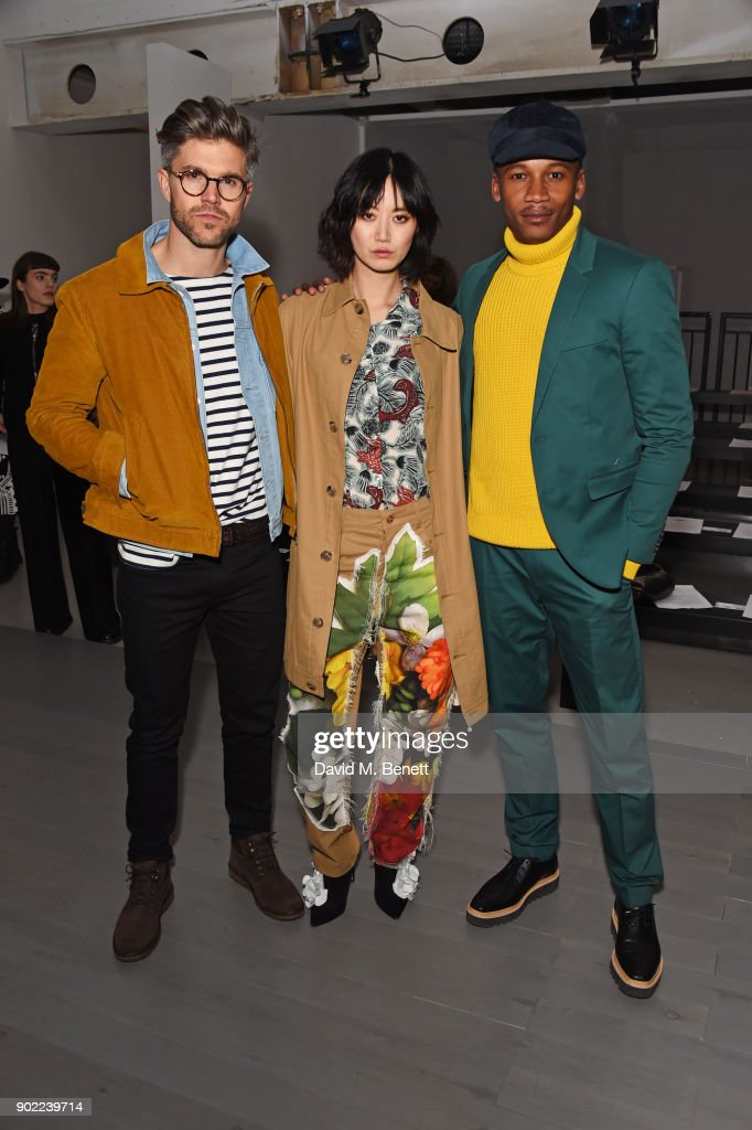 Alex Mullins - Front Row -  LFWM January 2018